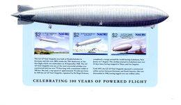 Nauru 2003-Zeppelins-YT B32***MNH - Zeppelins