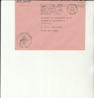 L 3 -  Enveloppe Gendarmerie De ST André    Poste SAINT DENIS - Réunion - Drogue - Alcool - Marcophilie (Lettres)