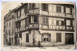 Molsheim. - Maison Bourgeoise. - Bürgerhaus XVI. Jahrh. - Ca. 1910. - Molsheim
