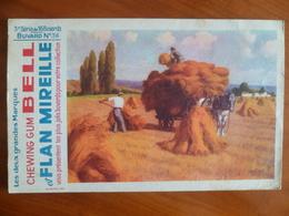Buvard  Chewing-gum  BELL Et Flan Mireille  N° 36 - Buvards, Protège-cahiers Illustrés