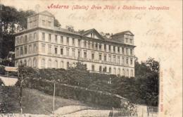 ITALIE  ANDORNO  ( Biella )  Gran Hotel E Stabilimento Idropedico - Other Cities