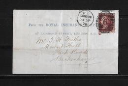 1878 Großbritannien Brief London Beckenham - Lettres & Documents