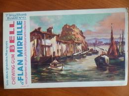 Buvard  Chewing-gum  BELL Et Flan Mireille  N° 43 - Buvards, Protège-cahiers Illustrés