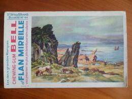 Buvard  Chewing-gum  BELL Et Flan Mireille  N° 44 - Buvards, Protège-cahiers Illustrés