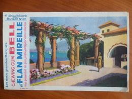 Buvard  Chewing-gum  BELL Et Flan Mireille  N° 49 - Buvards, Protège-cahiers Illustrés