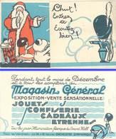 Dépliant Magasin Général, Père Noël , TSF - Publicités