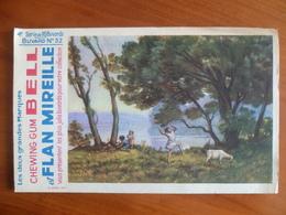 Buvard  Chewing-gum  BELL Et Flan Mireille  N° 52 - Buvards, Protège-cahiers Illustrés