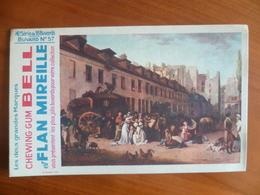 Buvard  Chewing-gum  BELL Et Flan Mireille  N° 57 - Buvards, Protège-cahiers Illustrés