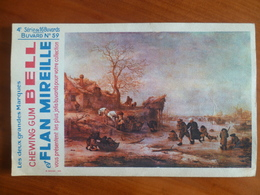 Buvard  Chewing-gum  BELL Et Flan Mireille  N° 59 - Buvards, Protège-cahiers Illustrés