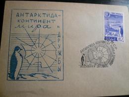 3 Antartic Events On 3 Fine Letters - Filatelia Polare