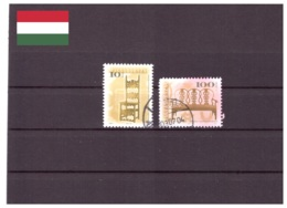 Hongrie 2001 - Oblitéré - Meubles - Michel Nr. 4561II 4565II (hun161) - Hongrie