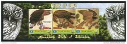 EAGLE,BIRD Of PREY On SOUVENIR SHEET 3 STAMPS,MNH,MINT,#BA249 - Eagles & Birds Of Prey