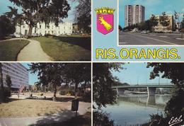 91 RIS ORANGIS / MULTIVUES - HOTEL DE VILLE / TOUR DES OISEAUX - Ris Orangis
