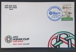 UAE NEW 2019 FDC - ASC Asian Football Cup Championship - United Arab Emirates