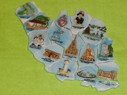 Série Complète De Feves : Carte De Vendée PERSO Sicard - Pays