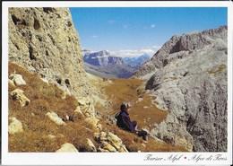 DOLOMITI - SCILIAR - ALPE DI TIRES -  VIAGGIATA 1997 - Alpinisme