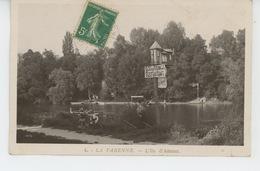 SAINT MAUR DES FOSSES - LA VARENNE - L'Ile D'Amour (Panneau RESTAURANT ÉCU DE FRANCE ) - Saint Maur Des Fosses
