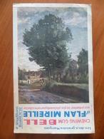 Buvard  Chewing-gum  BELL Et Flan Mireille  N° 62 - Buvards, Protège-cahiers Illustrés