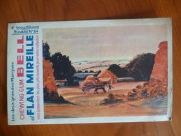 Buvard  Chewing-gum  BELL Et Flan Mireille  N° 64 - Buvards, Protège-cahiers Illustrés