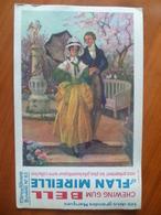 Buvard  Chewing-gum  BELL Et Flan Mireille  N° 65 - Buvards, Protège-cahiers Illustrés