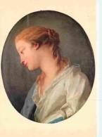 Art - Peinture - François Lemoyne - Jeune Fille - Voir Scans Recto-Verso - Peintures & Tableaux