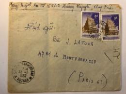 SOUTH VIET NAM - Letter 1962 From SAIGON To France - Vietnam
