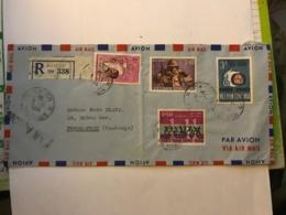 SOUTH VIET NAM - Registered Letter 1964 From SAIGON - Air Mail To Phnom-Penh (Cambodge) - Vietnam