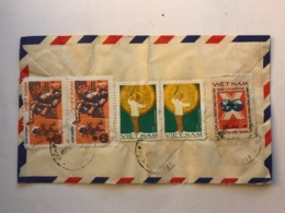 SOUTH VIET NAM - Letter 1982 From SAIGON - Air Mail To France - Vietnam