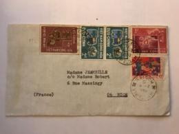 SOUTH VIET NAM - Letter 1969 From SAIGON - Air Mail To France - Viêt-Nam