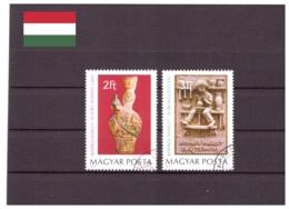 Hongrie 1978 - Oblitéré - Poterie - Michel Nr. 3324A-3325A (hun199) - Hungary