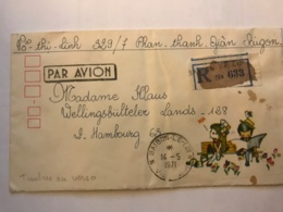 SOUTH VIET NAM - Registered Letter 1971 From SAIGON - Air Mail To Germany - Viêt-Nam