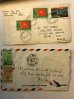SOUTH VIET NAM - Two Letters 1967 & 1986 - Vietnam