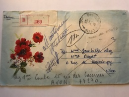 SOUTH VIET NAM - Registerd Letters 1978 From ? - Air Mail To France - Vietnam