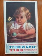Buvard  Chewing-gum  BELL Et Flan Mireille  N° 68 - Buvards, Protège-cahiers Illustrés