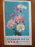 Buvard  Chewing-gum  BELL Et Flan Mireille  N° 69 - Buvards, Protège-cahiers Illustrés