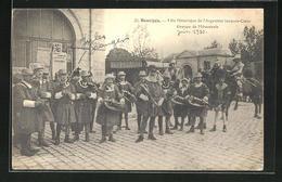 CPA Bourges, Fete Historique De L`Argentier Jacques-Coeur, Groupe De Ménestrels - Bourges