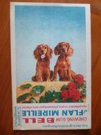 Buvard  Chewing-gum  BELL Et Flan Mireille  N° 70 - Buvards, Protège-cahiers Illustrés