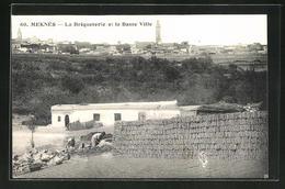 CPA Meknes, La Briqueterie Et La Basse Ville - Meknès