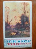 Buvard  Chewing-gum  BELL Et Flan Mireille  N° 71 - Buvards, Protège-cahiers Illustrés