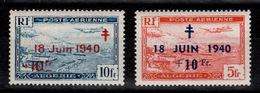 Algérie - YV PA 7 & 8 N** Appel Du General De Gaulle - Algérie (1924-1962)