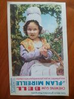 Buvard  Chewing-gum  BELL Et Flan Mireille  N° 73 - Buvards, Protège-cahiers Illustrés