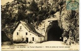 6038 - Savoie - LES ECHELLES  :  LE TUNNEL  En 1905 -  Circulée En 1905 - France