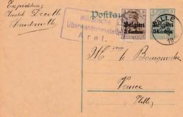 PS 5 Ct + 3 Ct Van Etalle (afzender Chanternelle) Naar Vance , Censuur Arel 30/VI/1916. - Guerre 14-18