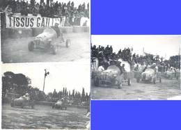 3 Photos Véhicules «  Quarter Midget « , Kart - Automobiles