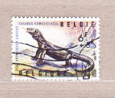 1965 Nr 1347 Gestempeld,zegel Uit Reeks Zoo Van Antwerpen-Reptielen. - België
