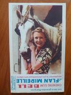 Buvard  Chewing-gum  BELL Et Flan Mireille  N° 77 - Buvards, Protège-cahiers Illustrés