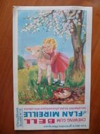 Buvard  Chewing-gum  BELL Et Flan Mireille  N° 79 - Buvards, Protège-cahiers Illustrés