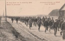 """Kaart Zeist """"Retour De Promenade"""" Van Legerplaats Bij Zeist Naar Frankrijk Met Franse Censuur - 1891-1948 (Wilhelmine)"""