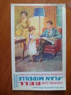 Buvard  Chewing-gum  BELL Et Flan Mireille  N° 80 - Buvards, Protège-cahiers Illustrés