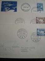 Polar - 1956 Ecc Groenland N°6 FDC - Fauna Artica
